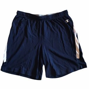 Champion Double Dry Basketball Shorts Navy White L